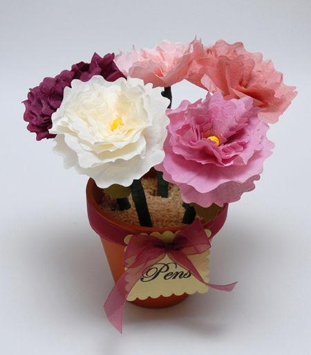 Peony Pen Bouquet Top View - Keri Lee Sereika web