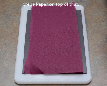 02 Crepe Paper comes next