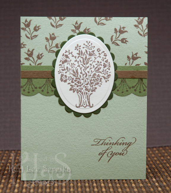 1-21-09 Flourishes Thinking of You card