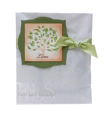 1-22-09 Love Tree Gift Bag - Labels Three - Keri Lee Sereika