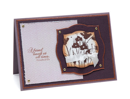 A Friend Loveth Card - Labels Three - Keri Lee Sereika web