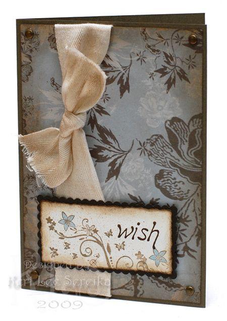 3-28-09 Unity Wish Card - Keri Lee Sereika