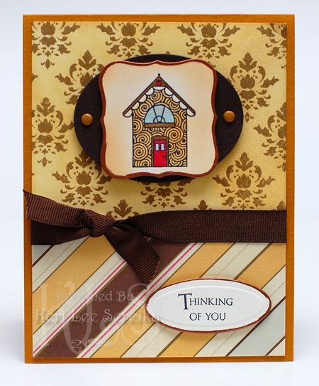 5-2-09 Thinking of you house card - Keri Lee Sereika