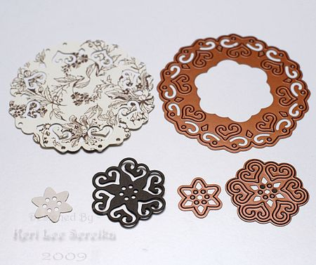 02 Die cut each shape - Keri Lee Sereika