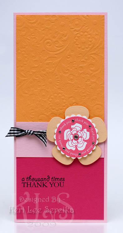 6-11-09 CPS121 - A Thousand Times Thank You card - Keri Lee Sereika