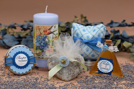 Lavender Vanilla Pamper Package and Simple Scent Pillow - Keri Lee Sereika - WEB