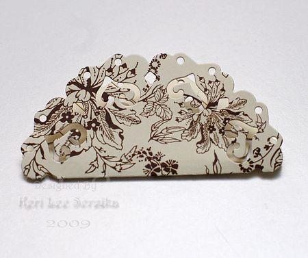 03 Fold Largest die cut in half - Keri Lee Sereika