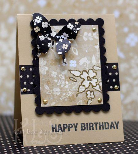 7-8-09 US14 - Happy Birthday Card - Keri Lee Sereika