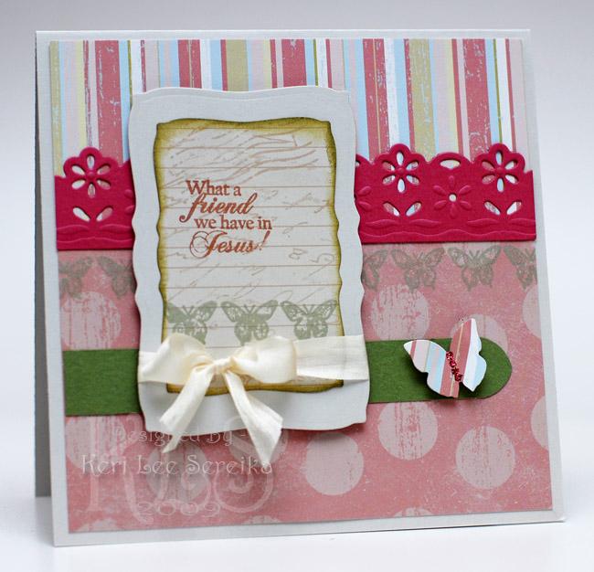 7-9-09 CPS123 - What a friend card - Keri Lee Sereika