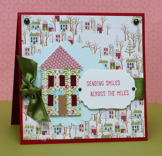 Sending Smiles Card - Keri Lee Sereika