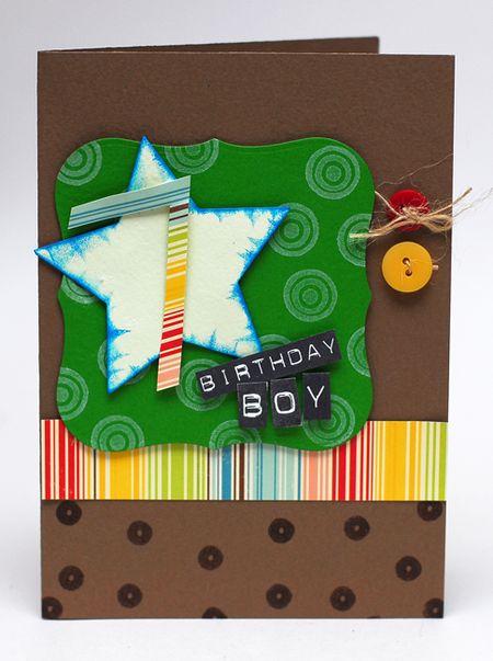 2-3-10 Birthday Boy Card 7 - Keri Lee Sereika