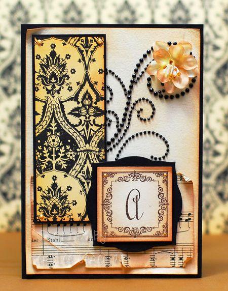 2-13-10 A Monogram Card - Keri Lee Sereika