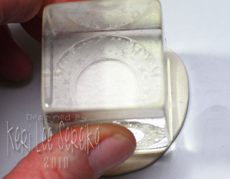 03 Press Stamp Into Clay
