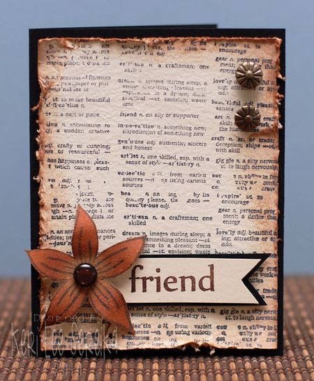3-23-10 Friend Card - Keri Lee Sereika