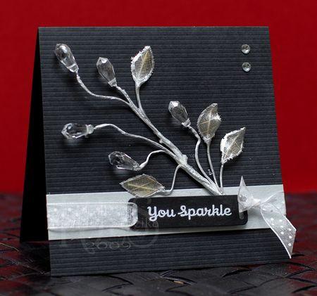 11-18-09 You Sparkle Card -Keri Lee Sereika