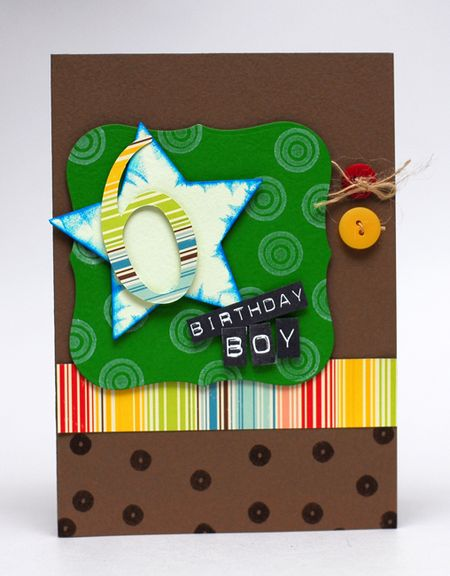 2-3-10 Birthday Boy Card - Keri Lee Sereika