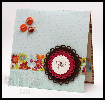11 Love You Card - Keri Lee Sereika