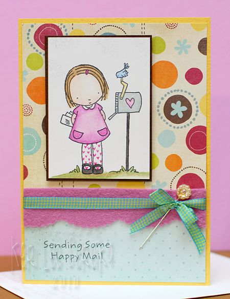 8-24-10 Sending Happy Mail - Keri Lee Sereika