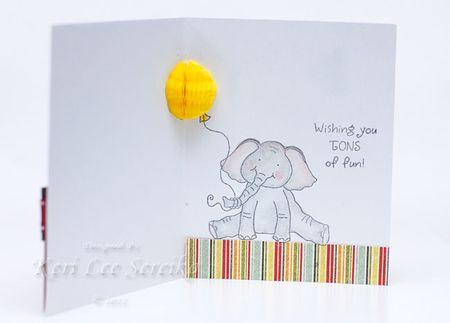 3-3-11 Honey Pop Birthday Card Inside - Keri Lee Sereika
