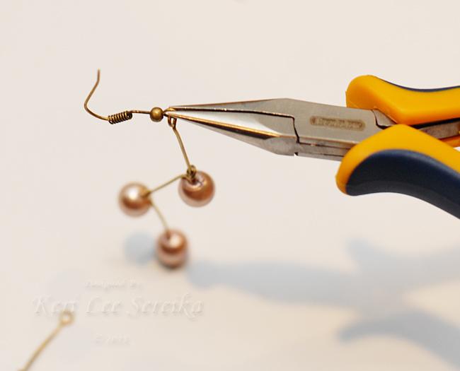 09 - Twist Loop on Bottom of Ear Wire Closed - Keri Lee Sereika