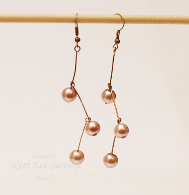 10 - Finished Earrings - Keri Lee Sereika