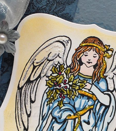 9-13-11 LOC Holly Angel Card - Keri Lee Sereika Close Up