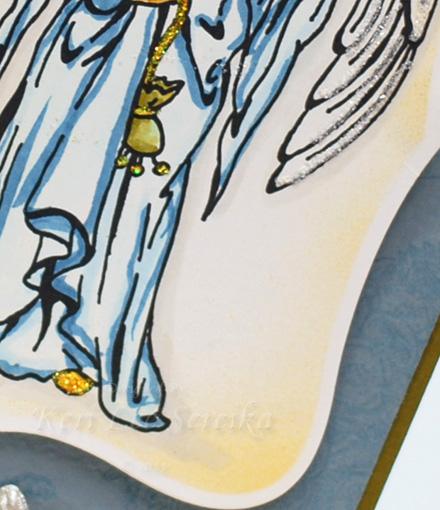 9-13-11 LOC Holly Angel Card - Keri Lee Sereika Close Up 2