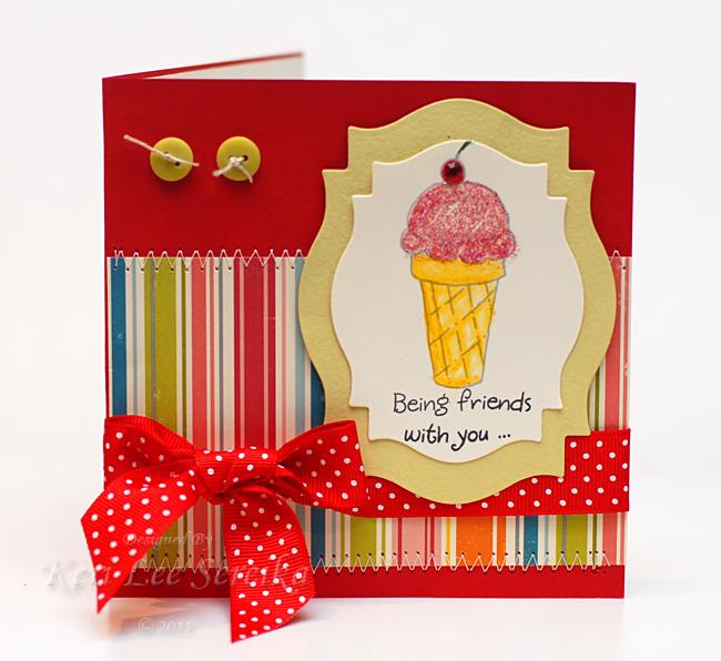 9-27-11 Honey Pop Blog Hop Card Outside - Keri Lee Sereika