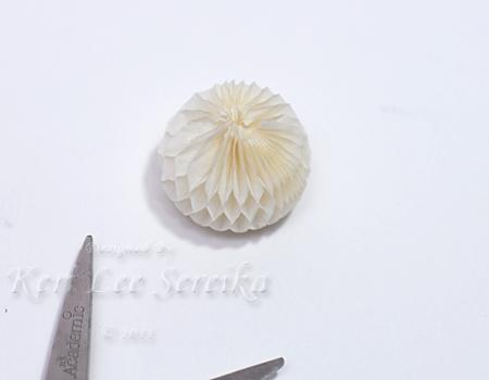 9-27-11 Honey Comb Paper Ornament 02 - Keri Lee Sereika