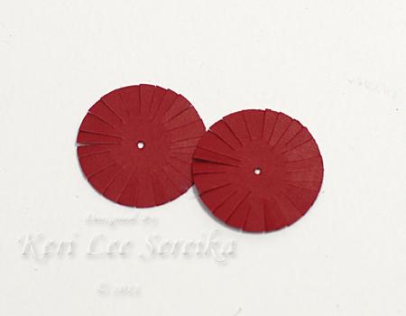 9-27-11 Honey Comb Paper Ornament 09 - Keri Lee Sereika