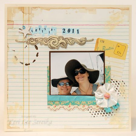 Pixie Dust May Kit - Cruisin' Layout - Keri Lee Sereika