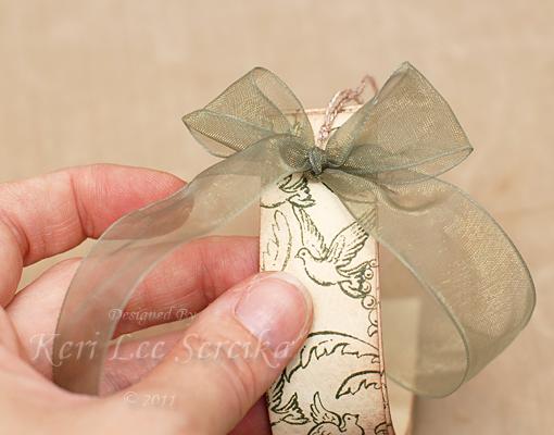 15 Tie ribbon into a full bow - Keri Lee Sereika