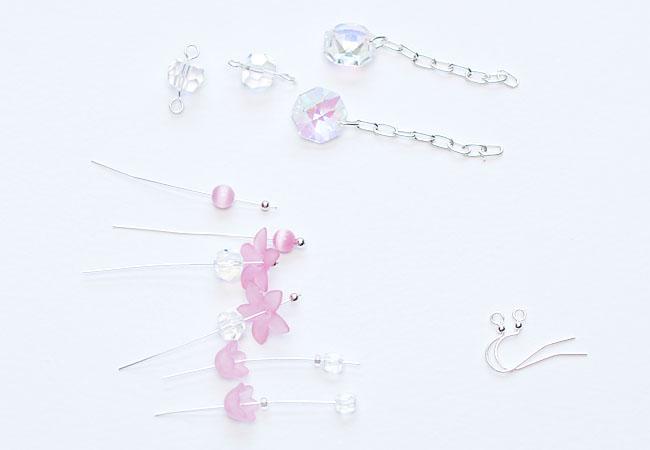 4-30-12 Connie Crystal May - Spring Cascades 02 Thread Beads Onto Head Pins & Eye Pins - Keri Lee Sereika