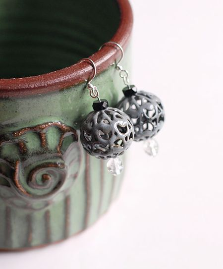 5-16-12 Enameled Bead & assorted glas beads - Keri Lee Sereika