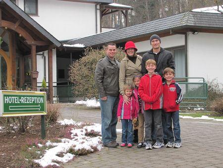 2-14-13 Wladhaus Eifel with Mr D