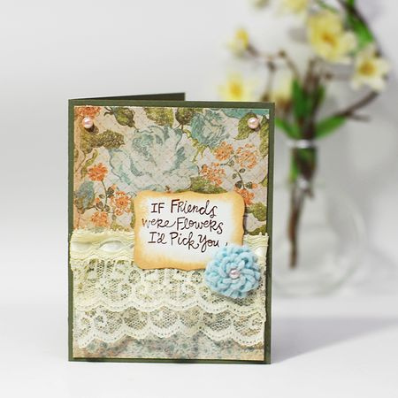 Sweet Friends card - Keri Lee Sereika