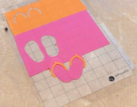 Oly Fun Flip Flop Silhouette Cuts - Keri Lee Sereika