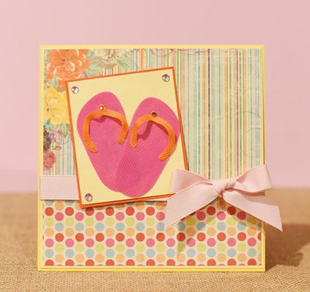 Oly Fun Flip Flop Card - Keri Lee Sereika