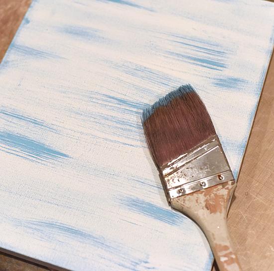 Crab Canvas - Dry Brush Canvas - Keri Lee Sereika
