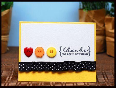 10-30-14 Thanks for being my friend card - Keri Lee Sereika