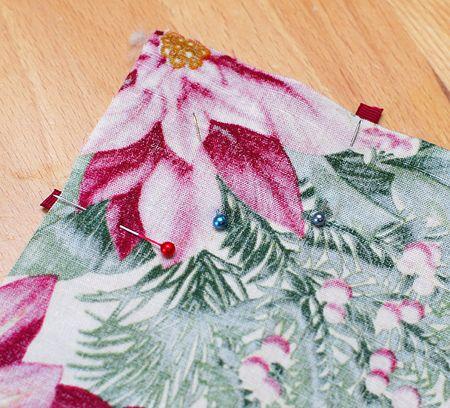 04 Lay Second Fabric Face Down and Pin - Keri Lee Sereika