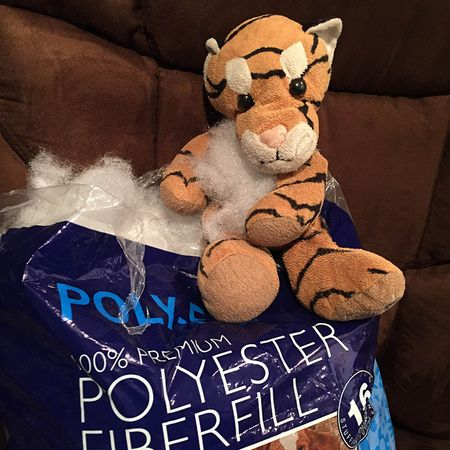 Hobbes Loves Poly-Fil