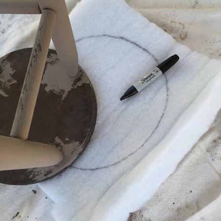 Measuring padding