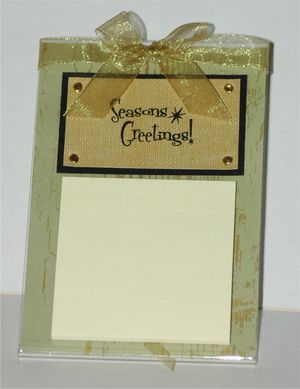 Holiday_class_post_it_note_holder_acryli